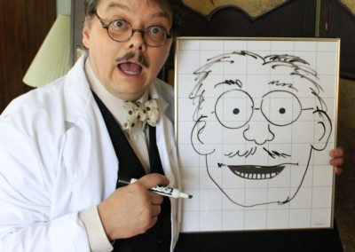 "San Antonio, Texas children's entertainer, comedian and cartoonist David Pitts, also known as ""The Astonishing Mr. Pitts"" and his nemesis, ""The Evil Dr. Sketchy"" , a drawing that comes to life and talks,, bring fun and excitement to audiences everywhere!"