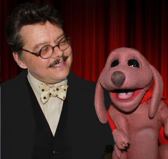 David Pitts, aka The Astonishing Mr. Pitts and his Puppet Partner Frank the Wonder Dog