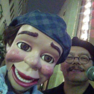 David Pitts and his puppet pal Henry Little perform clean comedy on San Antonio's historic Houston Street